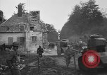 Image of American infantrymen with French tanks France, 1918, second 9 stock footage video 65675048484