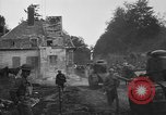 Image of American infantrymen with French tanks France, 1918, second 10 stock footage video 65675048484