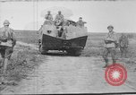 Image of French Saint-Chamond tank France, 1918, second 1 stock footage video 65675048489