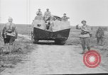 Image of French Saint-Chamond tank France, 1918, second 2 stock footage video 65675048489