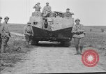 Image of French Saint-Chamond tank France, 1918, second 9 stock footage video 65675048489