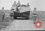 Image of French Saint-Chamond tank France, 1918, second 10 stock footage video 65675048489