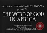 Image of African people Africa, 1931, second 9 stock footage video 65675048504