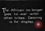 Image of African tribesmen Africa, 1931, second 1 stock footage video 65675048507