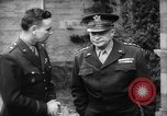 Image of General Eisenhower European Theater, 1944, second 5 stock footage video 65675048604