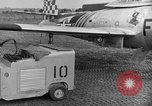 Image of F 84 aircraft Wiesbaden Germany, 1951, second 4 stock footage video 65675048627