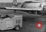 Image of F 84 aircraft Wiesbaden Germany, 1951, second 5 stock footage video 65675048627
