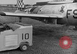 Image of F 84 aircraft Wiesbaden Germany, 1951, second 6 stock footage video 65675048627