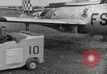 Image of F 84 aircraft Wiesbaden Germany, 1951, second 7 stock footage video 65675048627