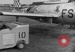 Image of F 84 aircraft Wiesbaden Germany, 1951, second 8 stock footage video 65675048627