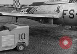 Image of F 84 aircraft Wiesbaden Germany, 1951, second 9 stock footage video 65675048627