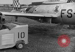 Image of F 84 aircraft Wiesbaden Germany, 1951, second 11 stock footage video 65675048627