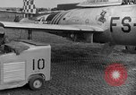 Image of F 84 aircraft Wiesbaden Germany, 1951, second 12 stock footage video 65675048627