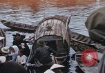 Image of dugout boats Kien Thanh Vietnam, 1966, second 1 stock footage video 65675048661