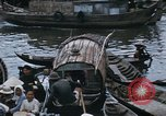 Image of dugout boats Kien Thanh Vietnam, 1966, second 8 stock footage video 65675048661