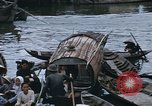 Image of dugout boats Kien Thanh Vietnam, 1966, second 11 stock footage video 65675048661