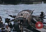 Image of dugout boats Kien Thanh Vietnam, 1966, second 12 stock footage video 65675048661