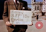 Image of Damaged Kaiser Wilhelm Memorial Church Berlin Germany, 1945, second 1 stock footage video 65675048672