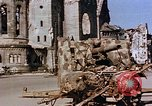 Image of Damaged Kaiser Wilhelm Memorial Church Berlin Germany, 1945, second 2 stock footage video 65675048672