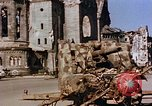 Image of Damaged Kaiser Wilhelm Memorial Church Berlin Germany, 1945, second 3 stock footage video 65675048672