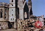 Image of Damaged Kaiser Wilhelm Memorial Church Berlin Germany, 1945, second 5 stock footage video 65675048672