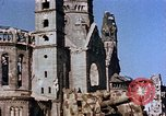 Image of Damaged Kaiser Wilhelm Memorial Church Berlin Germany, 1945, second 6 stock footage video 65675048672