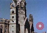 Image of Damaged Kaiser Wilhelm Memorial Church Berlin Germany, 1945, second 8 stock footage video 65675048672