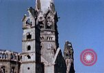 Image of Damaged Kaiser Wilhelm Memorial Church Berlin Germany, 1945, second 9 stock footage video 65675048672