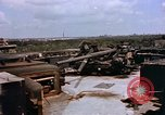Image of Anti-aircraft guns on Berlin Flak Tower Berlin Germany, 1945, second 5 stock footage video 65675048673
