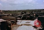 Image of Anti-aircraft guns on Berlin Flak Tower Berlin Germany, 1945, second 6 stock footage video 65675048673