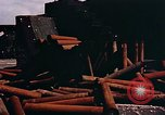 Image of German anti aircraft guns Berlin Germany, 1945, second 4 stock footage video 65675048674
