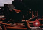 Image of German anti aircraft guns Berlin Germany, 1945, second 5 stock footage video 65675048674