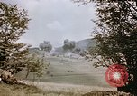 Image of strafing German tanks Germany, 1945, second 12 stock footage video 65675048679