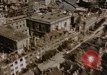 Image of damaged buildings Berlin Germany, 1945, second 8 stock footage video 65675048680
