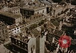 Image of damaged buildings Berlin Germany, 1945, second 9 stock footage video 65675048680