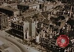 Image of damaged buildings Berlin Germany, 1945, second 10 stock footage video 65675048680