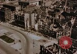 Image of damaged buildings Berlin Germany, 1945, second 11 stock footage video 65675048680