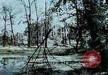 Image of bomb crater Berlin Germany, 1945, second 2 stock footage video 65675048683