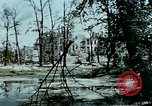 Image of bomb crater Berlin Germany, 1945, second 7 stock footage video 65675048683