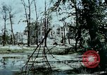 Image of bomb crater Berlin Germany, 1945, second 8 stock footage video 65675048683