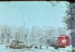Image of burnt out car Berlin Germany, 1945, second 1 stock footage video 65675048684