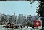 Image of burnt out car Berlin Germany, 1945, second 2 stock footage video 65675048684