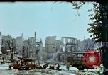 Image of burnt out car Berlin Germany, 1945, second 3 stock footage video 65675048684