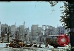 Image of burnt out car Berlin Germany, 1945, second 5 stock footage video 65675048684