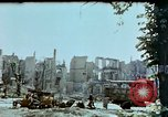 Image of burnt out car Berlin Germany, 1945, second 6 stock footage video 65675048684