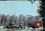 Image of burnt out car Berlin Germany, 1945, second 7 stock footage video 65675048684