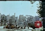 Image of burnt out car Berlin Germany, 1945, second 8 stock footage video 65675048684