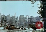 Image of burnt out car Berlin Germany, 1945, second 9 stock footage video 65675048684
