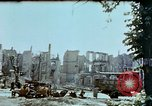 Image of burnt out car Berlin Germany, 1945, second 11 stock footage video 65675048684