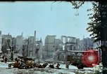 Image of burnt out car Berlin Germany, 1945, second 12 stock footage video 65675048684